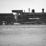 Pruebas en Campanillas (Málaga) de la locomotora Nº 451, adquirida a la North British Locomotives Works por Ferrocarriles Andaluces; llegaron a Málaga en mayo 1919. Foto Emilio Rennes.
