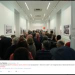 Inauguración de la exposición Atención al tren. La Térmica. Málaga (España). 10-11-2016