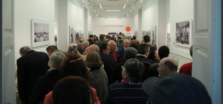 10-11-2016. Inauguración de la exposición ¡Atención al Tren! La Térmica. Málaga.