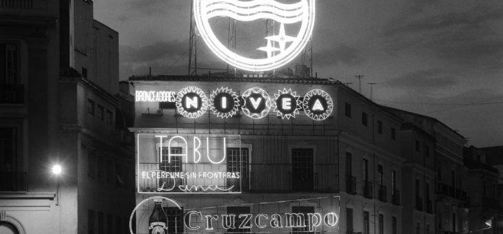 Málaga. Plaza de la Constitución.  Junio de 1966.