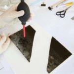 limpieza de negativos en vidrio