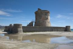 Torre de Las Salinas de Cabo de Gata. Almería
