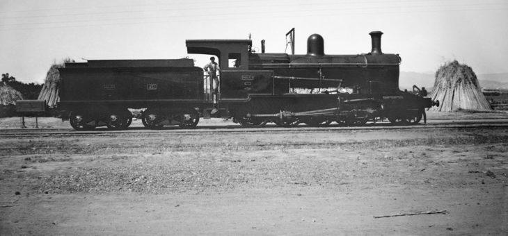 Exposición ¡Atención al tren! Huellas Malagueñas de Emilio Rennes