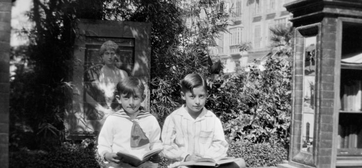 Biblioteca de Señoras del Parque de Málaga. Hacia 1927.