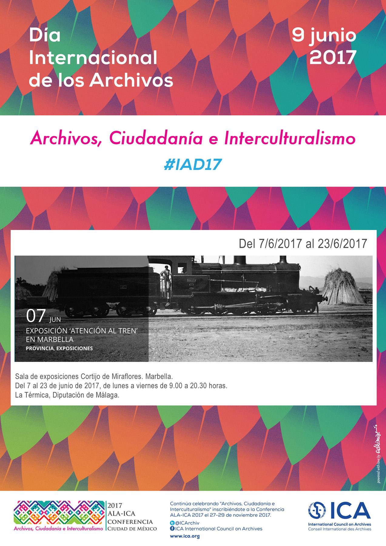 IAD 2017-Exposicion Atencion al tren