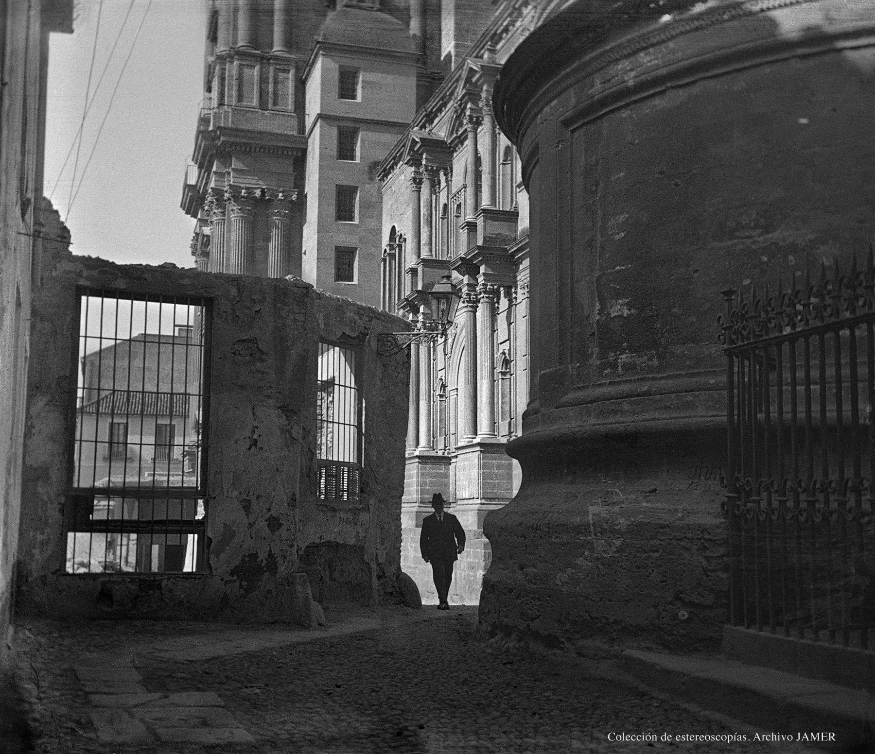 Fotografía Postigo de los Abades hacia 1920. Málaga