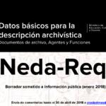 Borrador estándar NEDA-Req